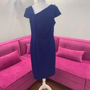 Tahari Blue Cocktail Dress